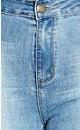Light Wash Apple Bootleg Jean