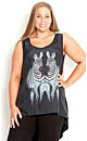 Two Zebras Top