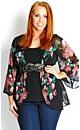 Drapey Bloom Jacket