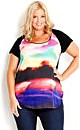 Rainbow Landscape Top