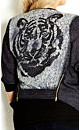 NOT FOR SALE 3/4 Sleeve Shadow Tiger Jacket