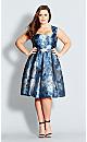 Brocade Belle Dress