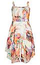 Floral Smudge Dress