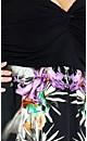 Plus Size Knot Front Maxi Dress - Purple Passion