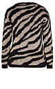 Metallic Zebra Jumper