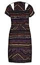 Rainbow Aztec Tunic