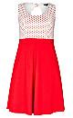 Women's Plus Size Mini Heart Dress | City Chic USA