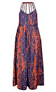 Cool Flame Maxi Dress