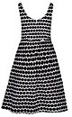 Miss Spotty Fit & Flare Dress