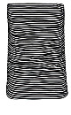 Stripe Rouched Boobtube