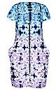 Women's Plus Size Zip Front Print Tunic | City Chic USA