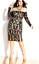 Rare Sequin Dress - black