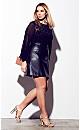 Mini Party Skirt - black