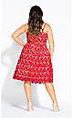 So Fancy Dress - scarlet