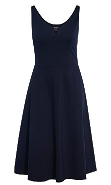 Cute Girl Dress - navy