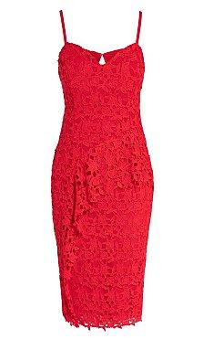 Illustrious Dress - red