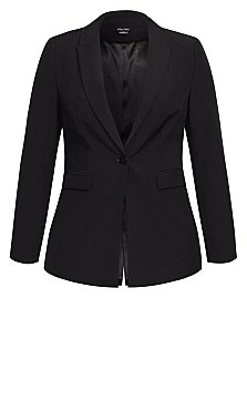 Simply Suited Jacket - black