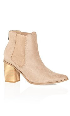 Maddie Ankle Boot - stone
