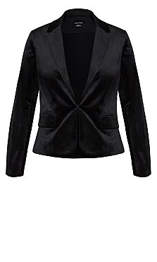 70'S Glam Jacket - black