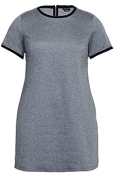 Carefree Dress - grey