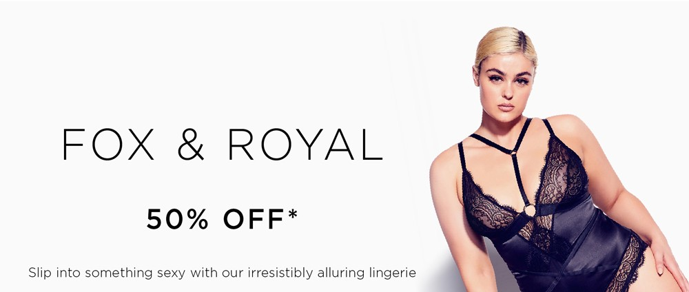 Shop Fox & Royal Lingerie Brand