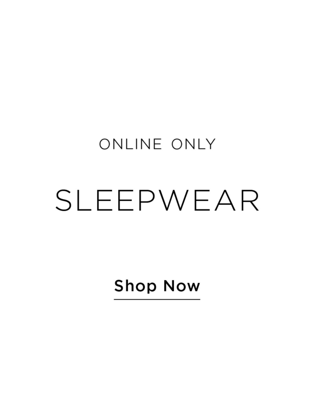 Shop all Sleepwear