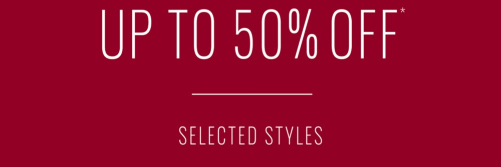 Upto 50% Off* Sale