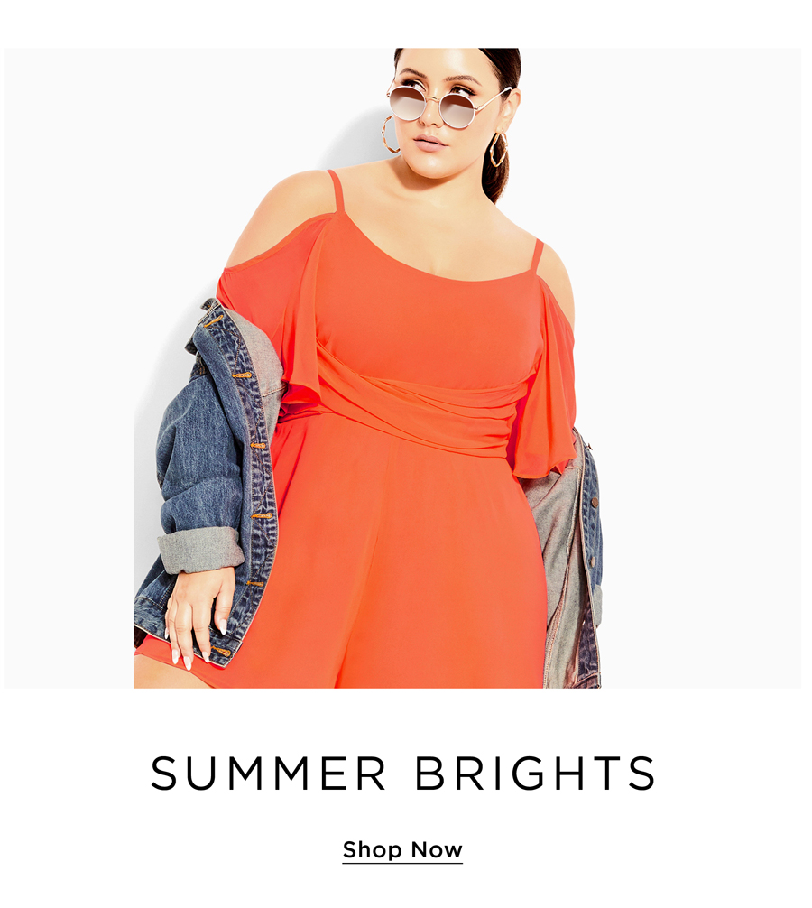 Shop City Chic Summer Bright Collection