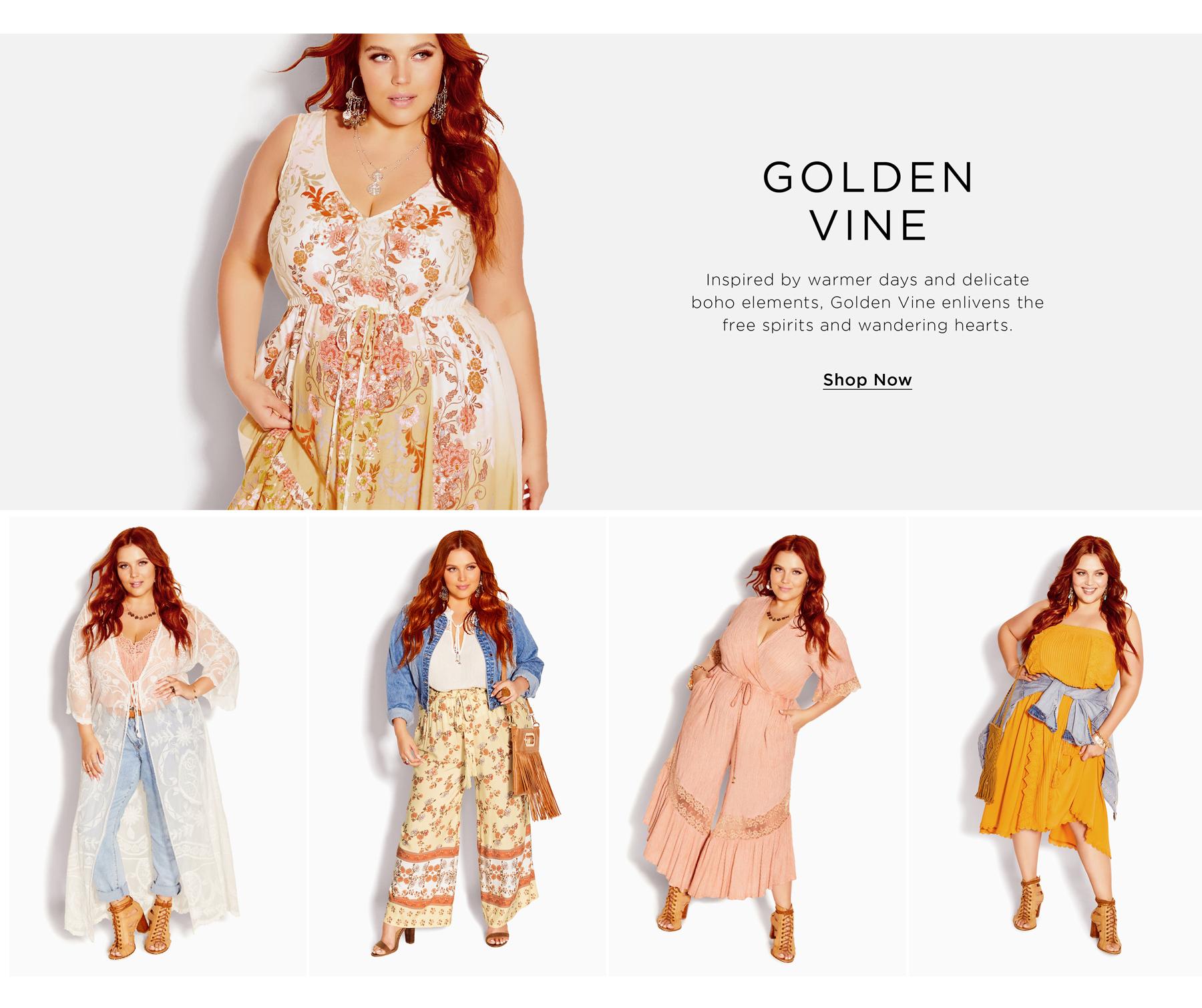 Shop New Golden Vine Collection