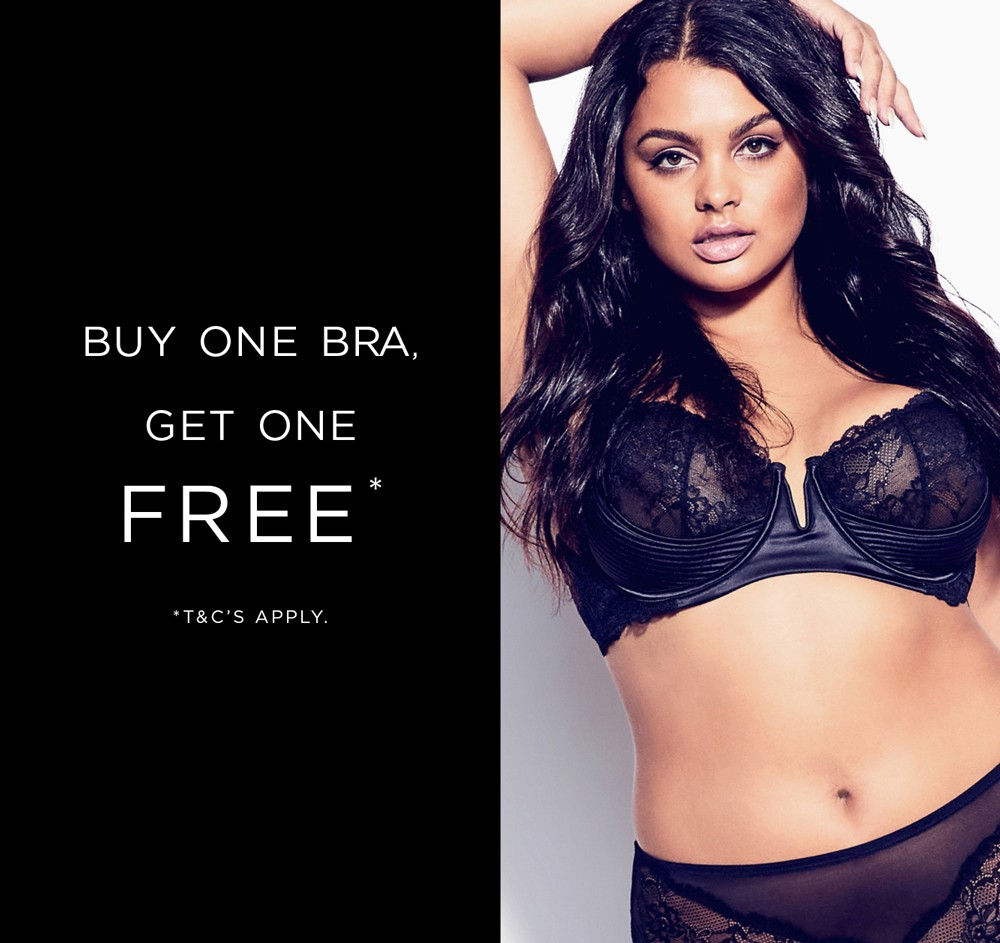Buy one Bra get one free