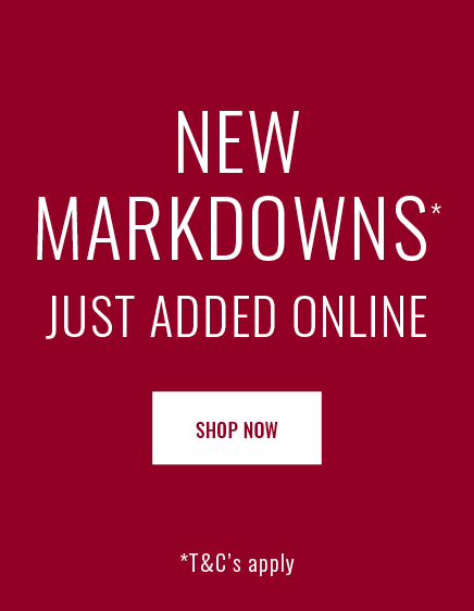 Shop New & Further Markdowns Now