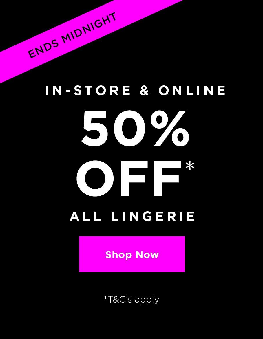 Shop all New Lingerie
