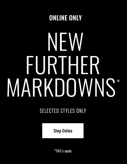 Shop New Markdowns Now