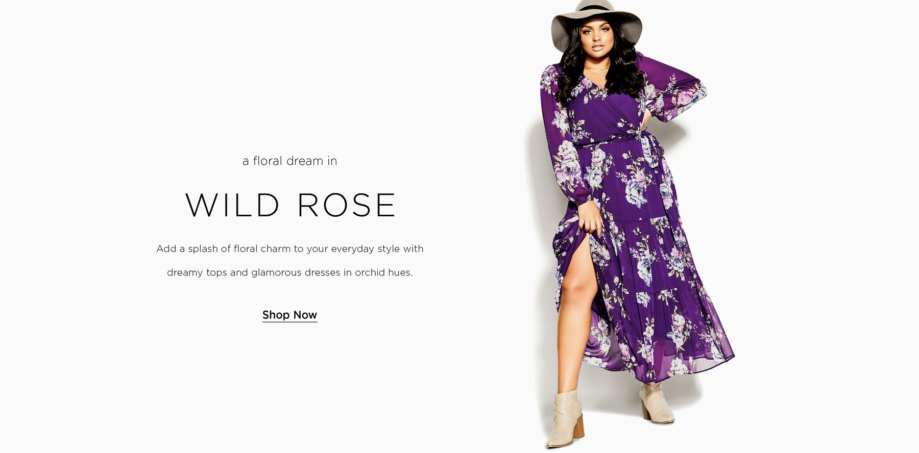 Shop City Chic Wild Rose New Collection